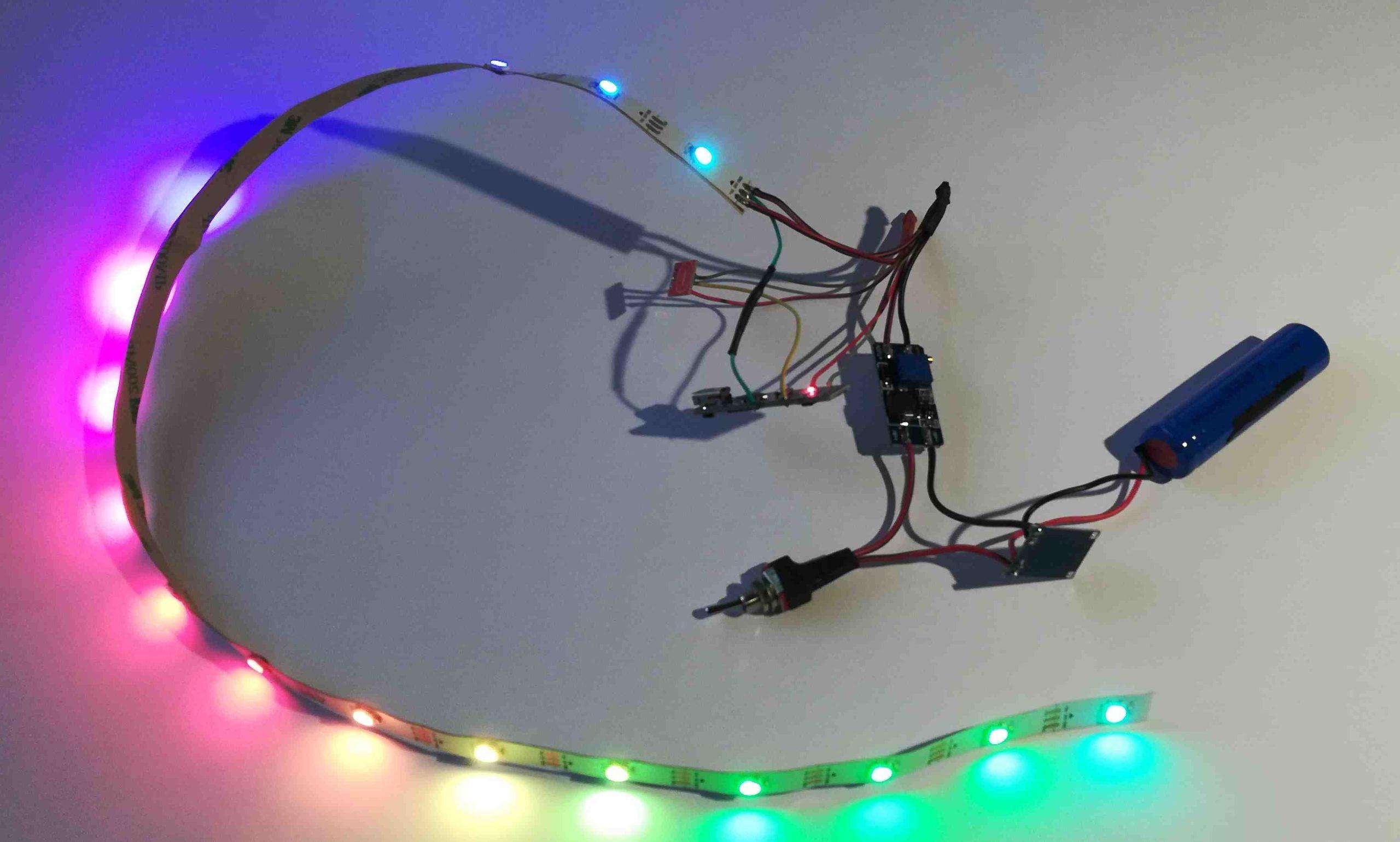 Comment connaître la tension d'alimentation d'une LED?