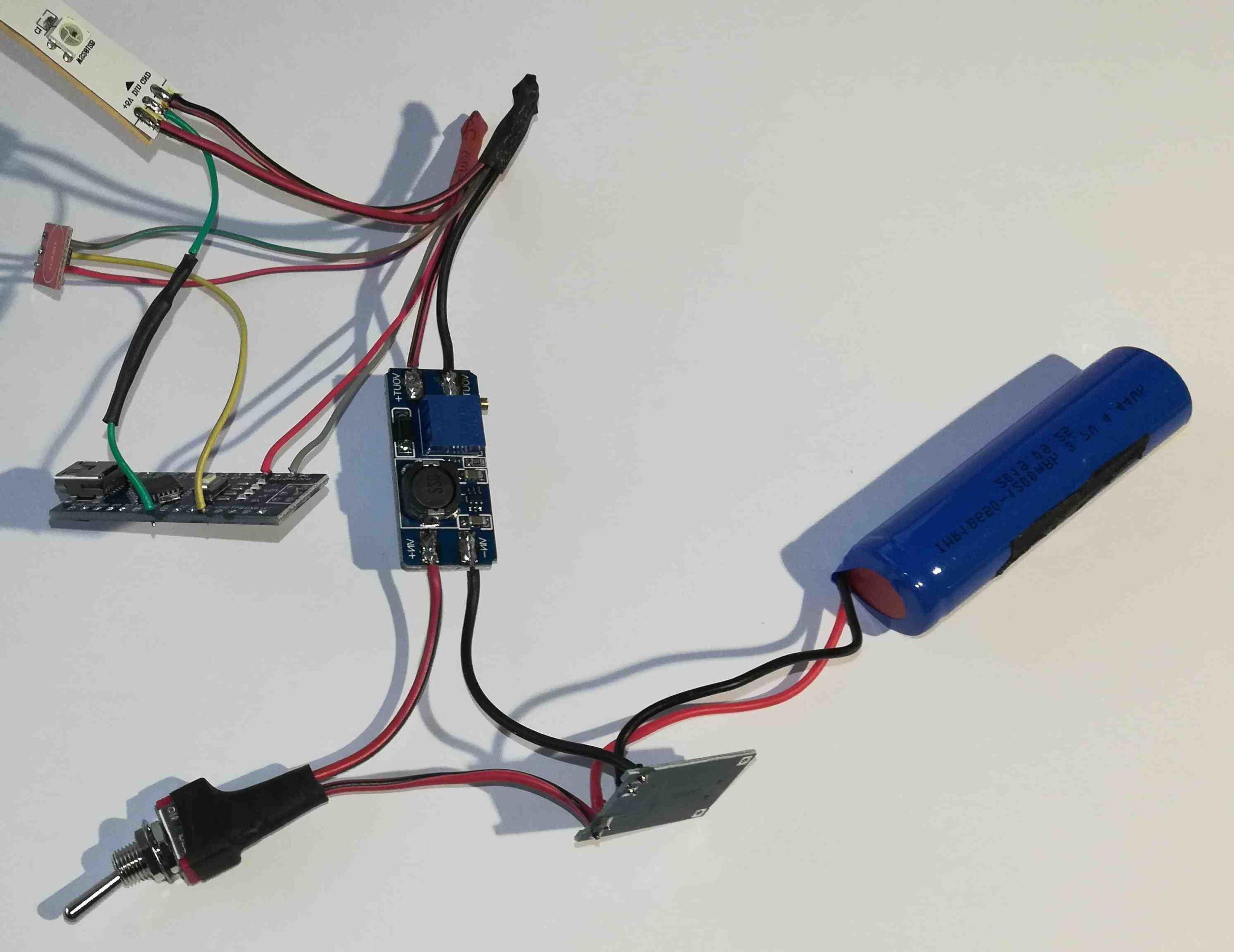Comment fabriquer une lampe tubulaire?