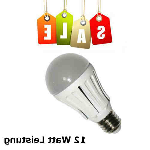 Quelle est la puissance de la LED pour WC?